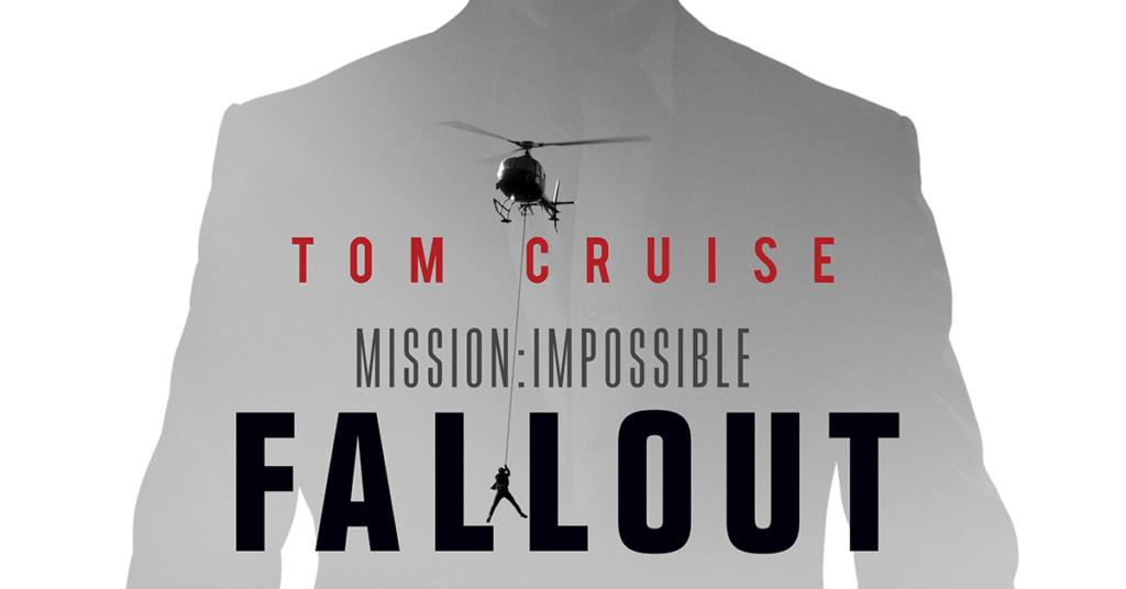 これから混雑が予想されるミッションインポッシブルのポスター
