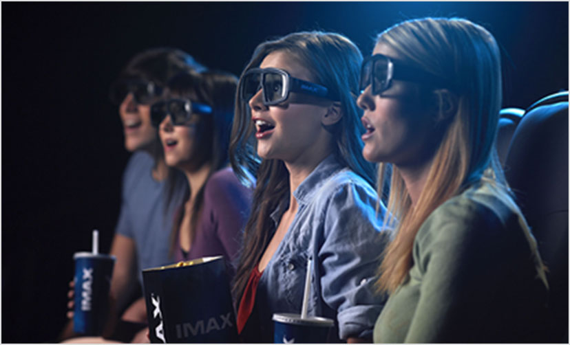 IMAX 3Dの3Dメガネ
