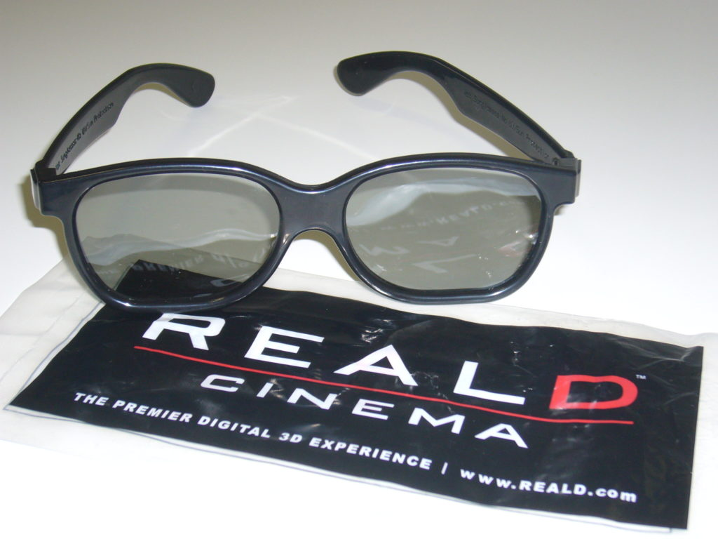 RealDの3Dメガネ